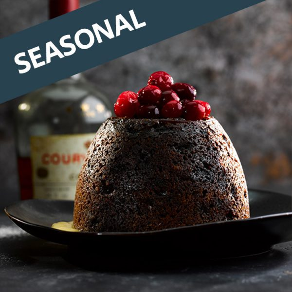 Luxury 2lb Christmas Pudding and 24 Mince Pies