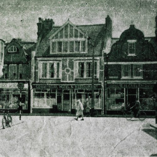 1933 -  THE BEGINNING   Eva and Reginal Turner make and sell their first pie at the popular and well renowned commercial hotel in the seaside tourist destination Bognor Regis where people would visit from all over the UK.