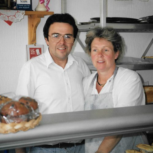 1985 SECOND GENERATION  Eva's youngest son Pip and his wife took the great pies they knew and began to make them from home to sell to local butchers and delicatessens. Soon enough, the demand becomes high due to the high-quality standards of their pies.