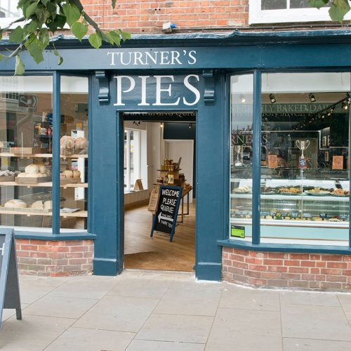 2017 THE HATRICK  Turner's open their 3rd store in the picturesque city of Chichester, spreading their sought after products along the West Sussex south coast.